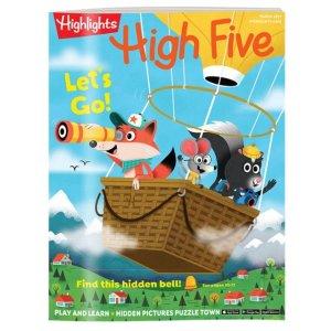 HighlightsMagazines for Preschoolers & Kindergartners - High Five | Highlights for Children