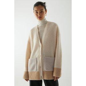 COS羊毛混纺开衫