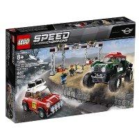 Lego Speed Champions 1967 迷你库伯 S Rally 和 2018 迷你琼库伯 工作车75894