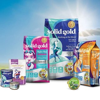 低至7折+额外8折Solid Gold 猫粮、狗粮大促销