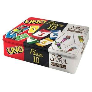 Mattel Games FFK01 铁盒桌游三件套 6.5折特价