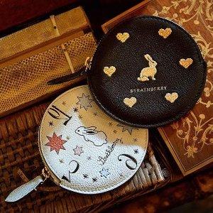 新品登场 收超仙链条信封包Strathberry 美包上新 爱丽丝系列手袋、零钱包超好看,中秋特别款