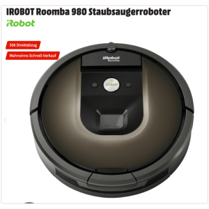 仅今天 买到赚到! 牛到飞起的iRobot Roomba 980 旗舰级智能扫地机器人980系列