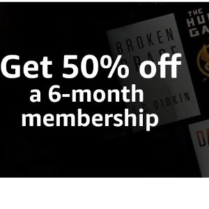 50% offKindle Unlimited free for 3 month