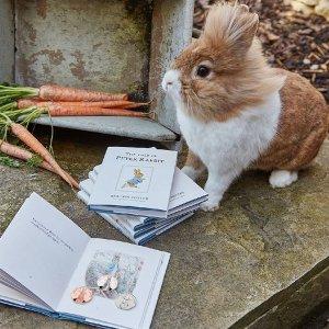 无门槛7.5折 普通版£7.5可收!Beatrix Potter 彼得兔系列收藏币热卖中