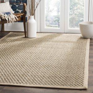 $39.99Safavieh 纯天然海草编织地毯3x5