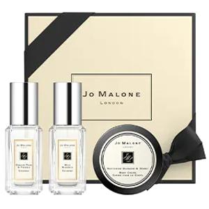 $78 送香氛x2或正装香水笔Jo Malone 探索3件套 内含英国梨、蓝风铃