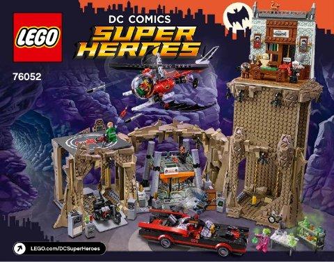 Mint Lego 76052 Batman Classic TV Series Batcave Dick Grayson Minifigure
