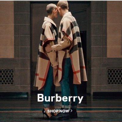 低至5折 £495收经典格纹Tote包Burberry 夏日大促区上新货 捡漏经典款