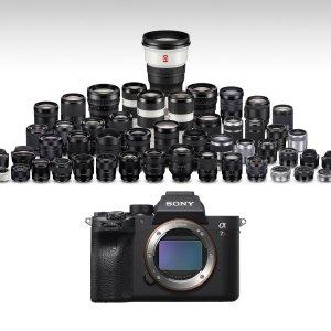 Sony a7r IV配什么镜头才能发挥最大潜力?来和大神学