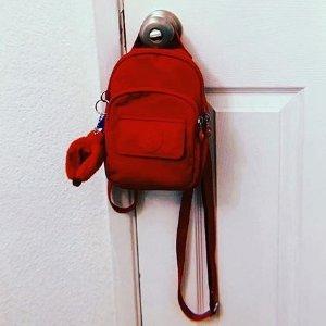 $44.99起 樱花粉参加最后一天:Kipling 精选Mini背包热卖