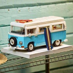 Lego8月1日开售大众T2野营车