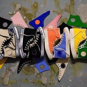 每天都是新球鞋!售价£110Converse X Joshua Vides 联名Chuck 70S 已发售