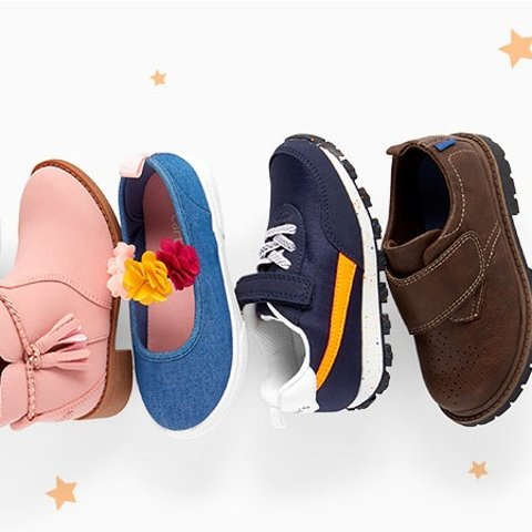 Buy 3+ Pairs Get 50% OffCarter's Kids Shoes Buy More Save More