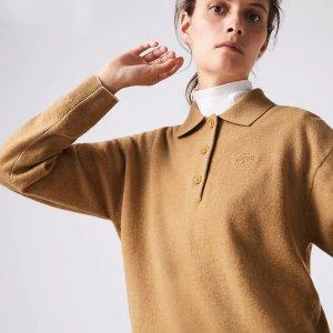 Lacoste羊毛polo衫