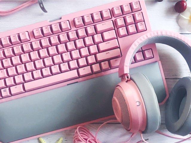 有了粉晶套装,我就是粉色系Carr...