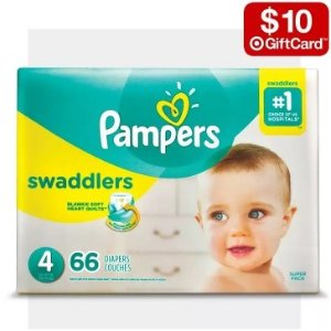 $10 gift card with 2select baby diapers items @ Target