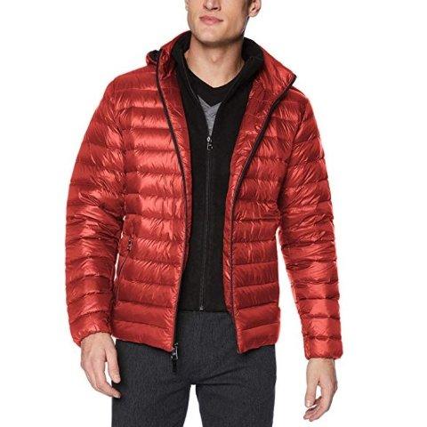 现价$77.98(原价$225) 多色可选Calvin Klein 男士轻质羽绒服优惠