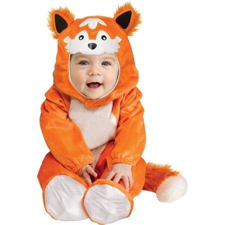 婴儿小狐狸装扮服