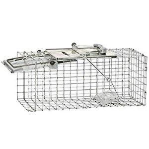 Havahart Medium Professional Style One-Door Animal Trap for Rabbit, Skunk, Mink, and Squirrel - 1078 : Squirrel Trap : Gateway