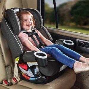 8折 $239最后一天:Graco 4Ever 4合1 双向安全座椅热卖 使用年限为十年
