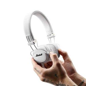 史低好价¥393Marshall Major III 头戴式可折叠耳机