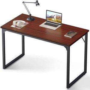 """Coleshome 47"""" 现代风实用书桌电脑桌"""