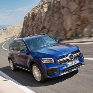 """能越野的""""紧凑型GLS""""奔驰7座小怪兽 2020 Mercedes-Benz GLB级SUV"""