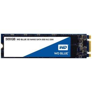 $64.99 包邮WD Blue 3D NAND M.2 2280 500GB 固态硬盘