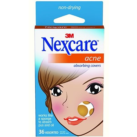 $4.18Nexcare Acne Absorbing Cover 2 Sizes 36 Count