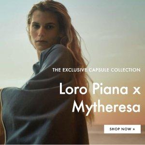 刘诗诗流金岁月同牌 €490收条纹裙LORO PIANA x Mytheresa 联名上架 意大利高级羊绒系列
