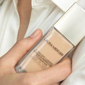 低至3.5折Laura Mercier 精选美妆护肤品热卖  收遮瑕棒 粉底液