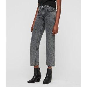 ALLSANTS直筒牛仔裤