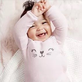 40% Off + Extra 20% Off $40+All New Little Baby Basics @ Carter's