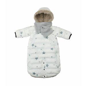 多功能保暖袋 白色星星