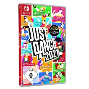 优惠价€53.6带回家新品上市:《舞力全开2021》今日发售 在家中疯狂尬舞吧