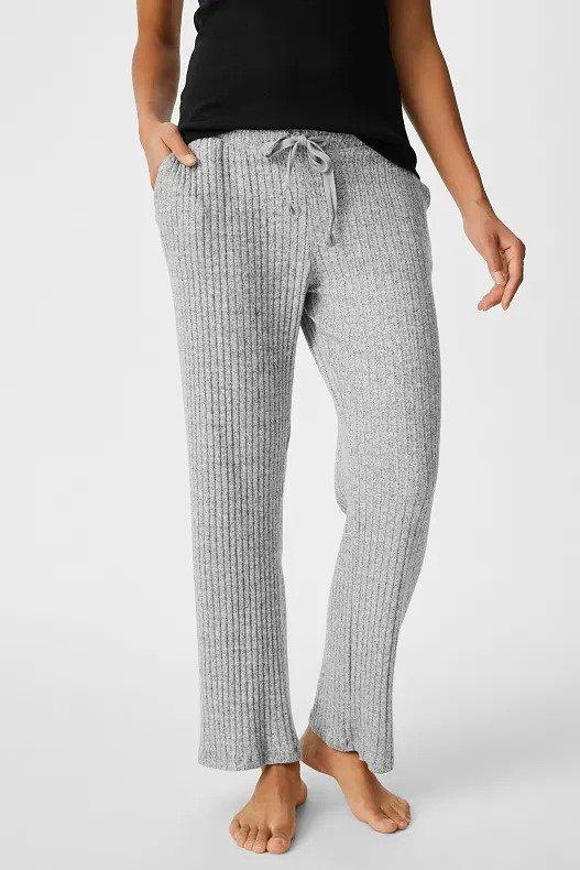 针织休闲裤
