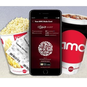 享$5电影票+$5可乐爆米花套餐AMC Stub 会员周二限时优惠 免费加入