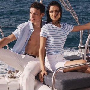 折扣区额外4折Nautica 休闲服饰大促 低价入超舒适T恤、卫衣