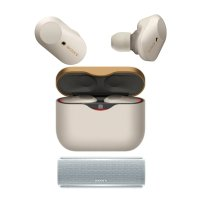 Sony WF-1000XM3 降噪豆3代 +SRS-XB21 蓝牙音箱