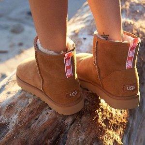 UGG 雪地靴,毛毛拖鞋热卖 $66收新款毛毛拖鞋