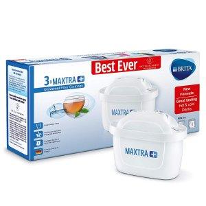 现价£10.99 (原价£17.25)Brita Maxtra+ 替换滤芯3件装热卖