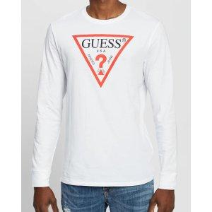 GuessLogo T恤