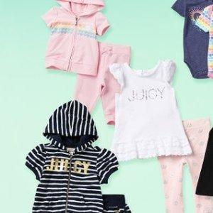 $14.97起Juicy Couture  女童服饰促销 俏皮小甜心装扮