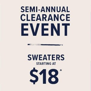 As low as $18Lucky Brand Jeans Men's Sweaters
