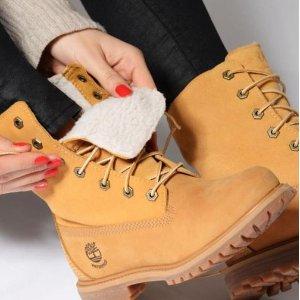 5折起+额外8折 封面$96限今天:Timberland、Bearpaw等冬靴特惠 少女粉短靴$61