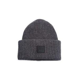 Acne Studios笑脸混纺毛线帽