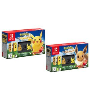 $399.99Switch Pikachu & Eevee Edition with Pokemon: Let's Go Bundle