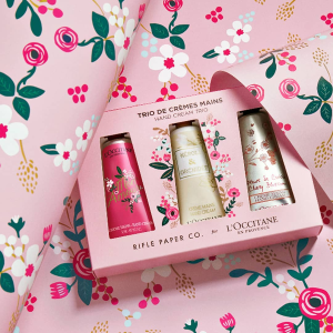20% offwith any hand cream orders @ L'Occitane