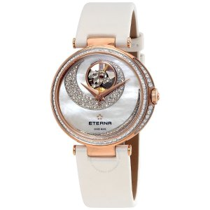 Up to 80% Off + Extra $300 OffETERNA Grace Automatic Mother of PearlLadies Watch